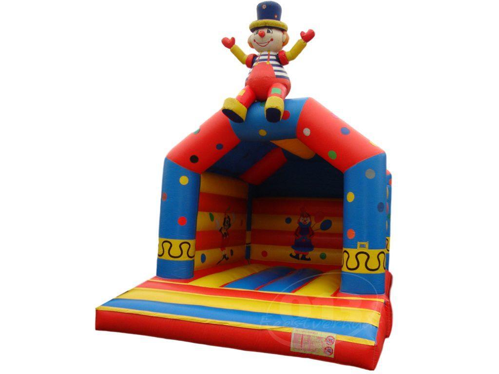 Circus clown overdekt