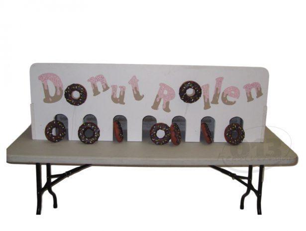 Donuts rollen spel