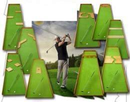 Midgetgolf 9 holes